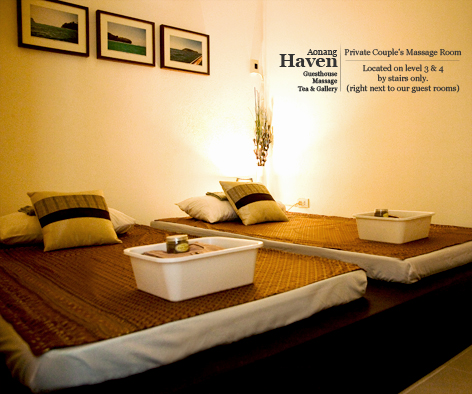 Private Couples Massage Room